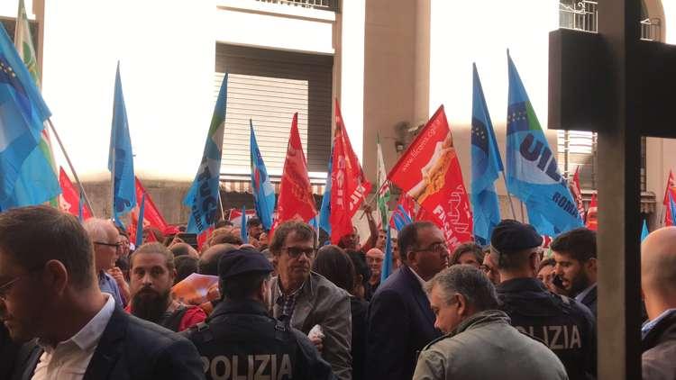lotta dei lavoratori Coop