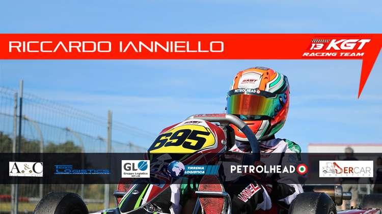 Riccardo Ianniello alla Rok Cup Italy