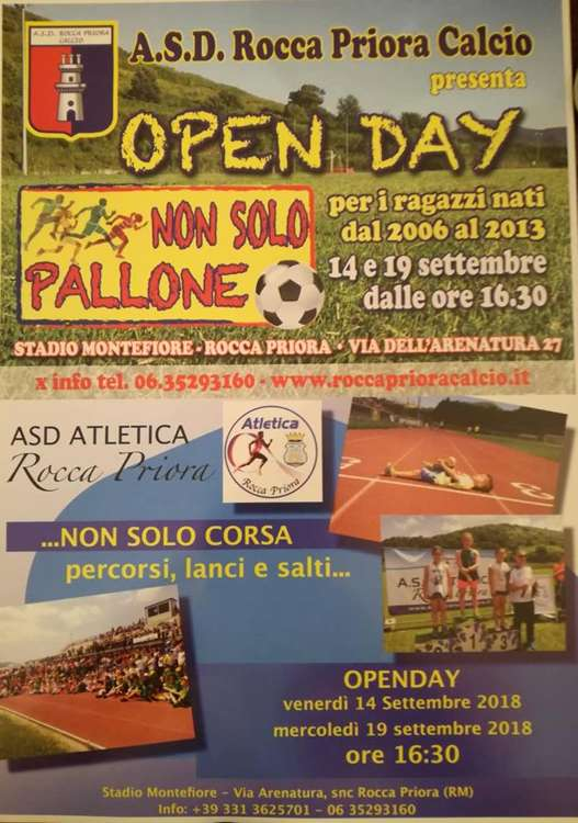 evento open day