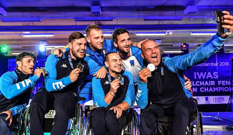 prima storica medaglia paralimpica