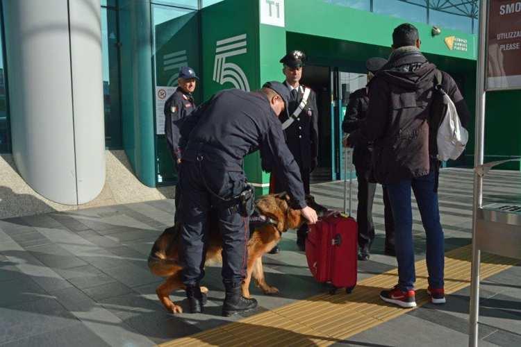 controllo aeroporto Ciampino