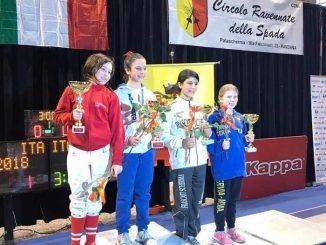 podio nel Trofeo Lazio