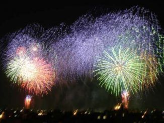 fuochi d'artificio per Capodanno