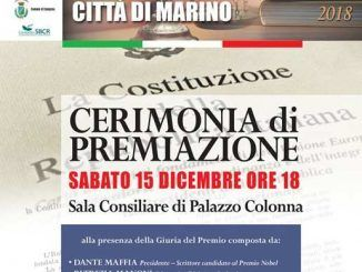 premio letterario Sandro Sciotti - città di Marino
