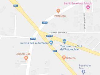 progetto di rotatoria sull'Appia Nuova