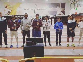 oro nell'8° trofeo comitato regionale lazio
