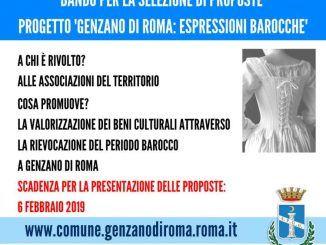 """progetto """"Genzano di Roma: Espressioni Barocche"""""""
