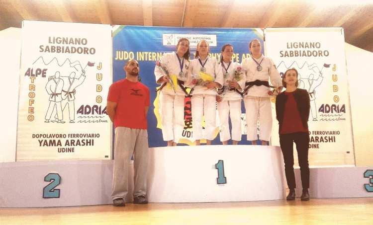 """seconda al trofeo internazionale """"Alpe Adria"""""""