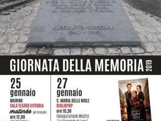 giornata della memoria a Marino