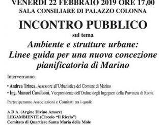 piano regolatore a Marino
