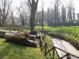 manutenzione e cura dei sentieri nel parco