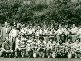 Rugby Frascati Union 1949 alla presentazione degli eventi per il 70esimo del Rugby Frascat