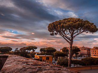 veduta di Frascati