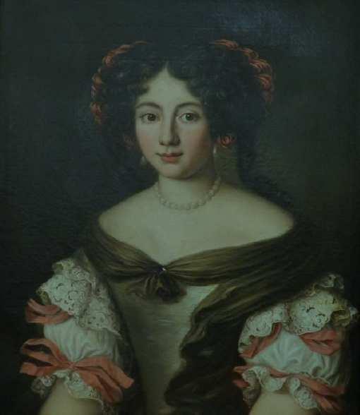 Ritratto di Marta Ghezzi Baldinotti