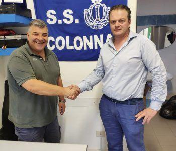 pinci (a sx) col vice presidente cascia