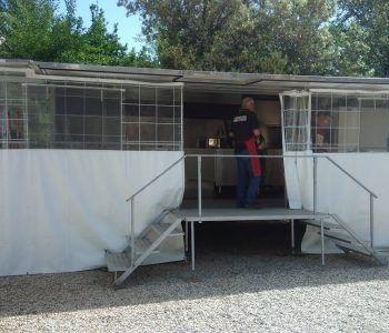 cucina da campo protezione civile