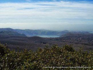 Panorama sul lago di Nemi