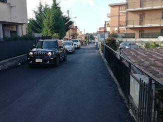 Via Trento a Pavona